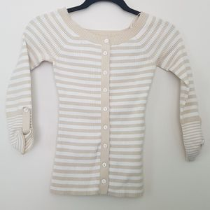 Guess striped 1/4 length